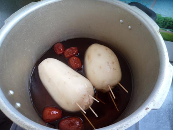 蜜汁糯米藕怎么炖