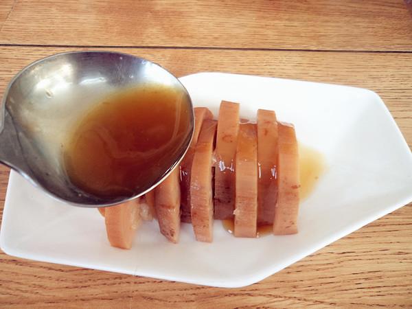 蜜汁糯米藕怎样做
