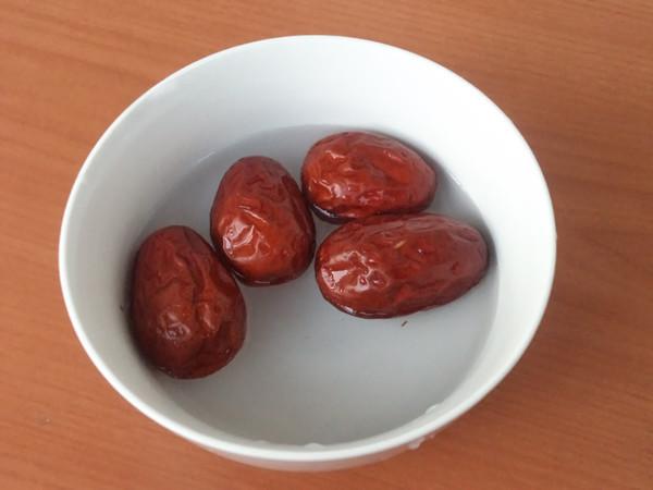 茯苓双红豆浆的简单做法
