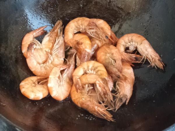 什锦海虾怎样煸