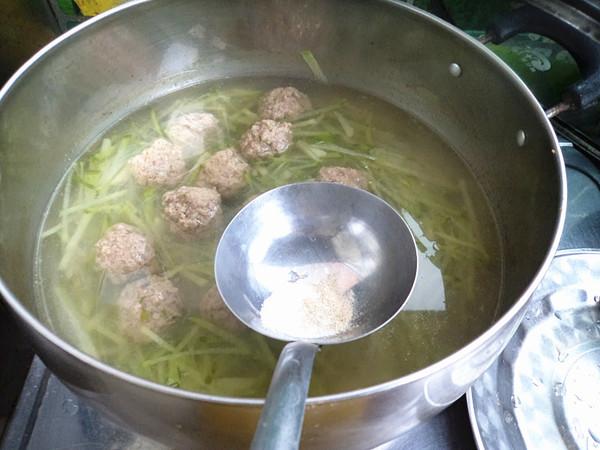 萝卜羊肉丸子汤怎么炒