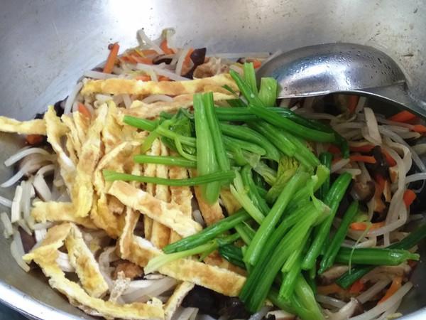 炒合菜怎样做