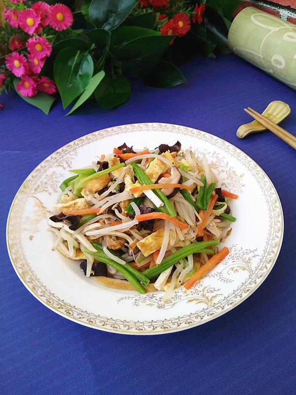 炒合菜成品图