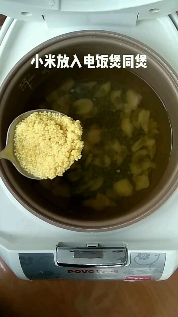 绿豆百合小米粥怎么做