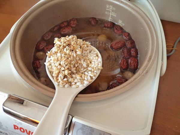 桂圆红枣大麦粥怎么做