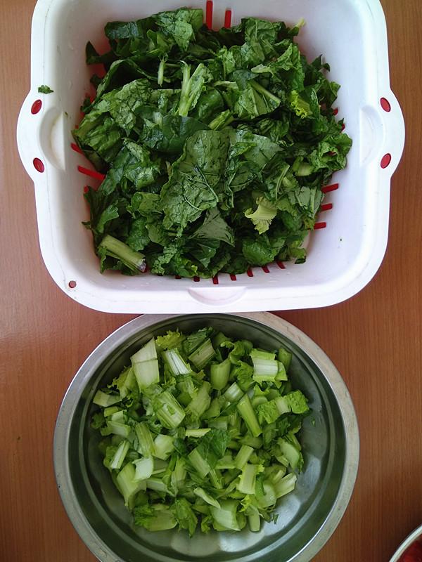 西红柿炒小白菜的做法大全