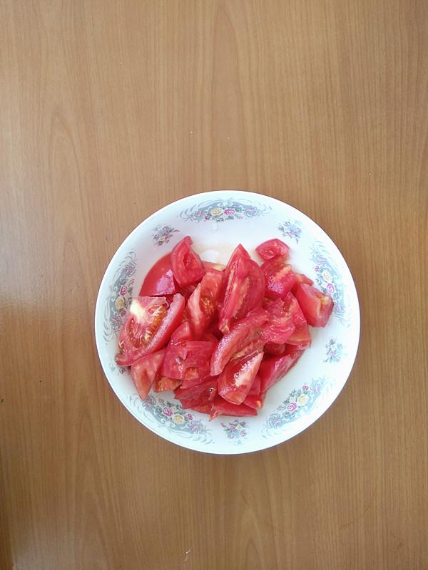 西红柿炒小白菜的做法图解