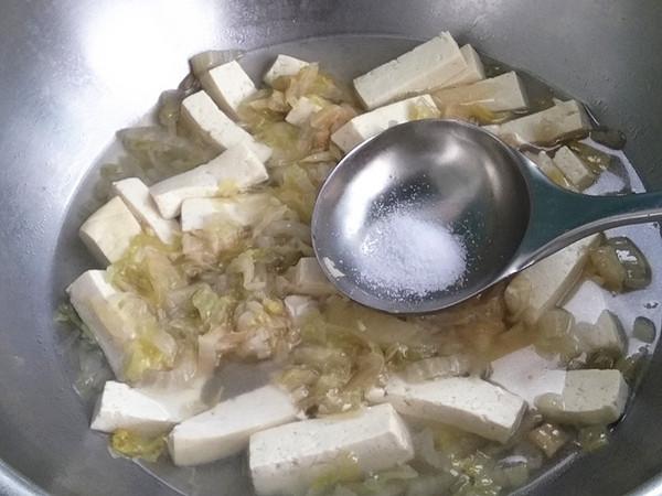 酸菜白豆腐怎么炒