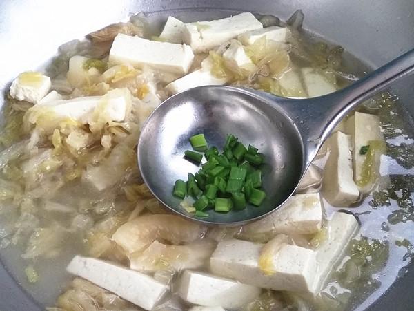 酸菜白豆腐怎么煮
