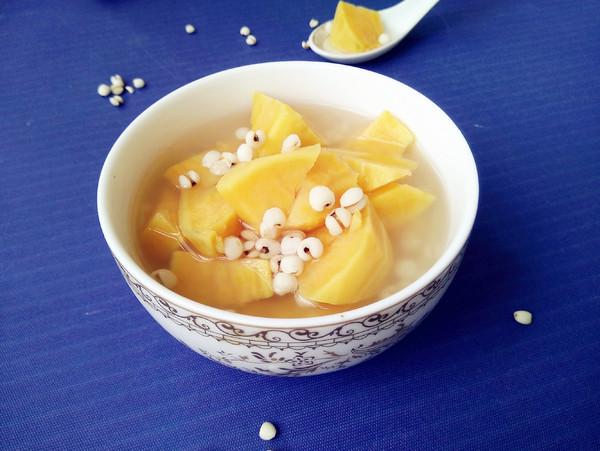 祛湿瘦身山芋薏米粥怎么做