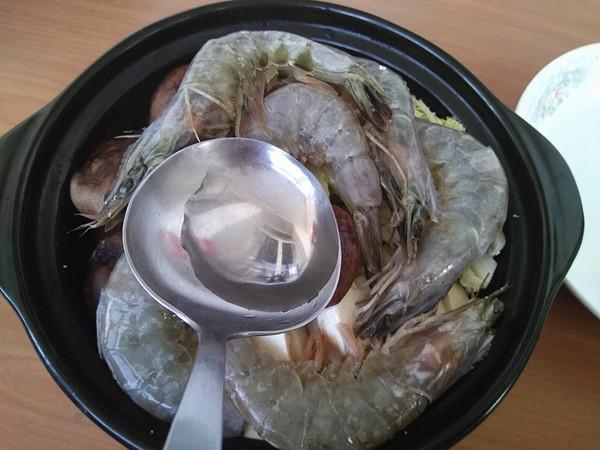 鲜虾豆腐煲怎么煮