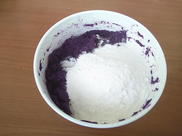 紫薯黏豆包的做法图解