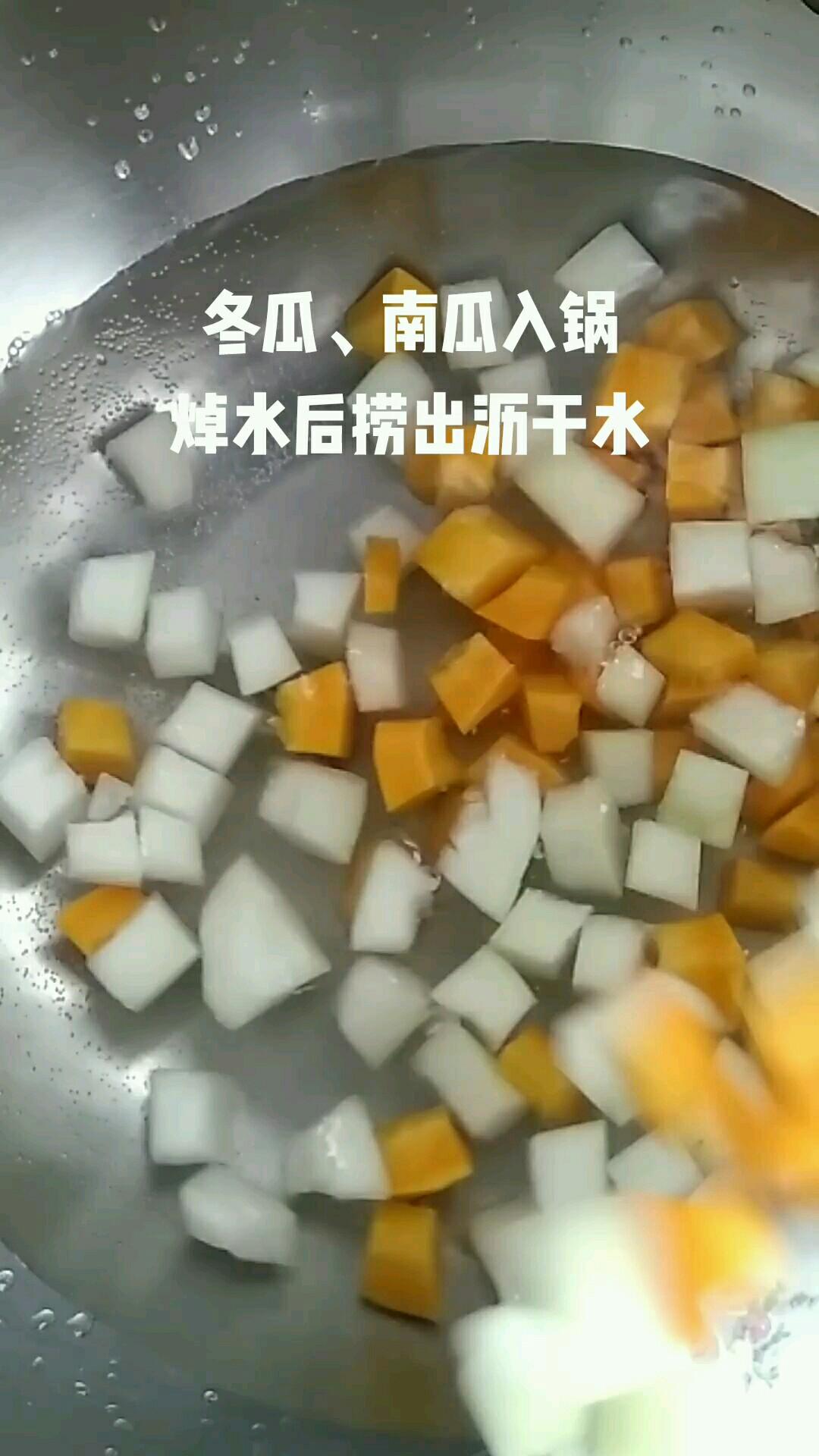 蜜汁四瓜的简单做法