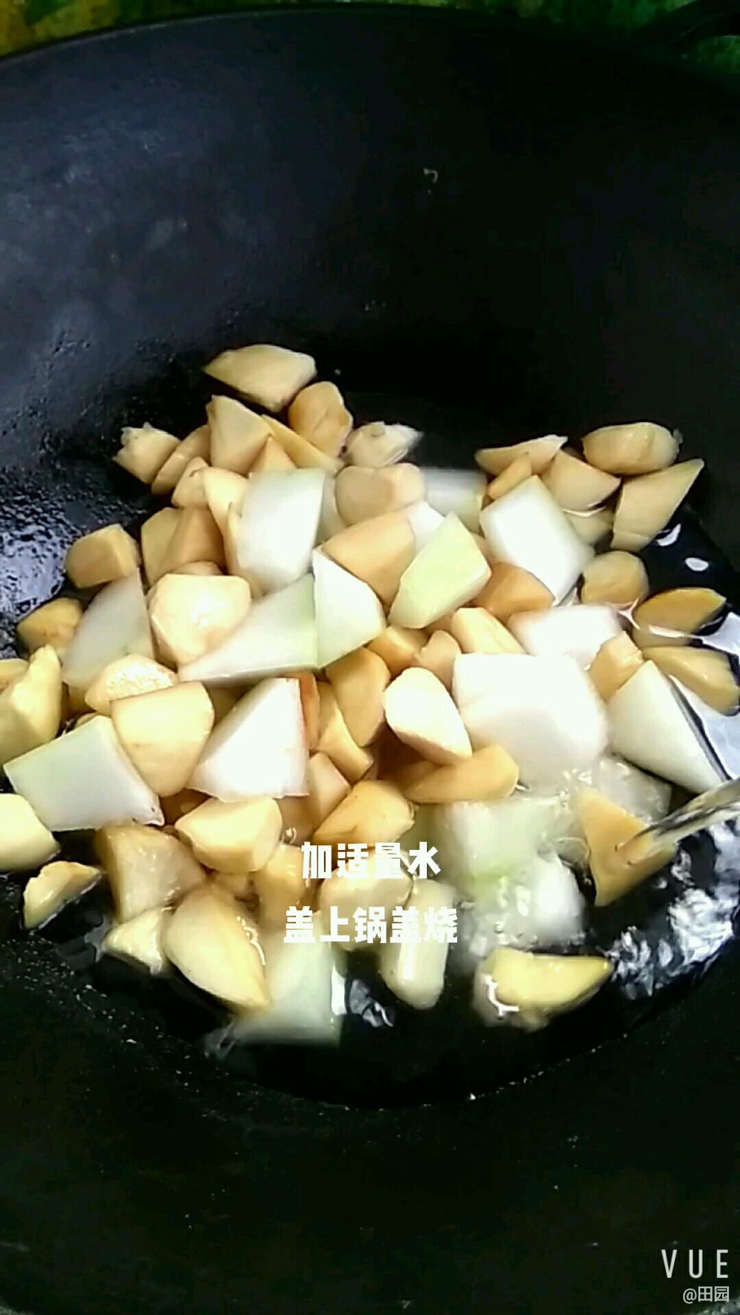 红烧冬瓜杏鲍菇的简单做法