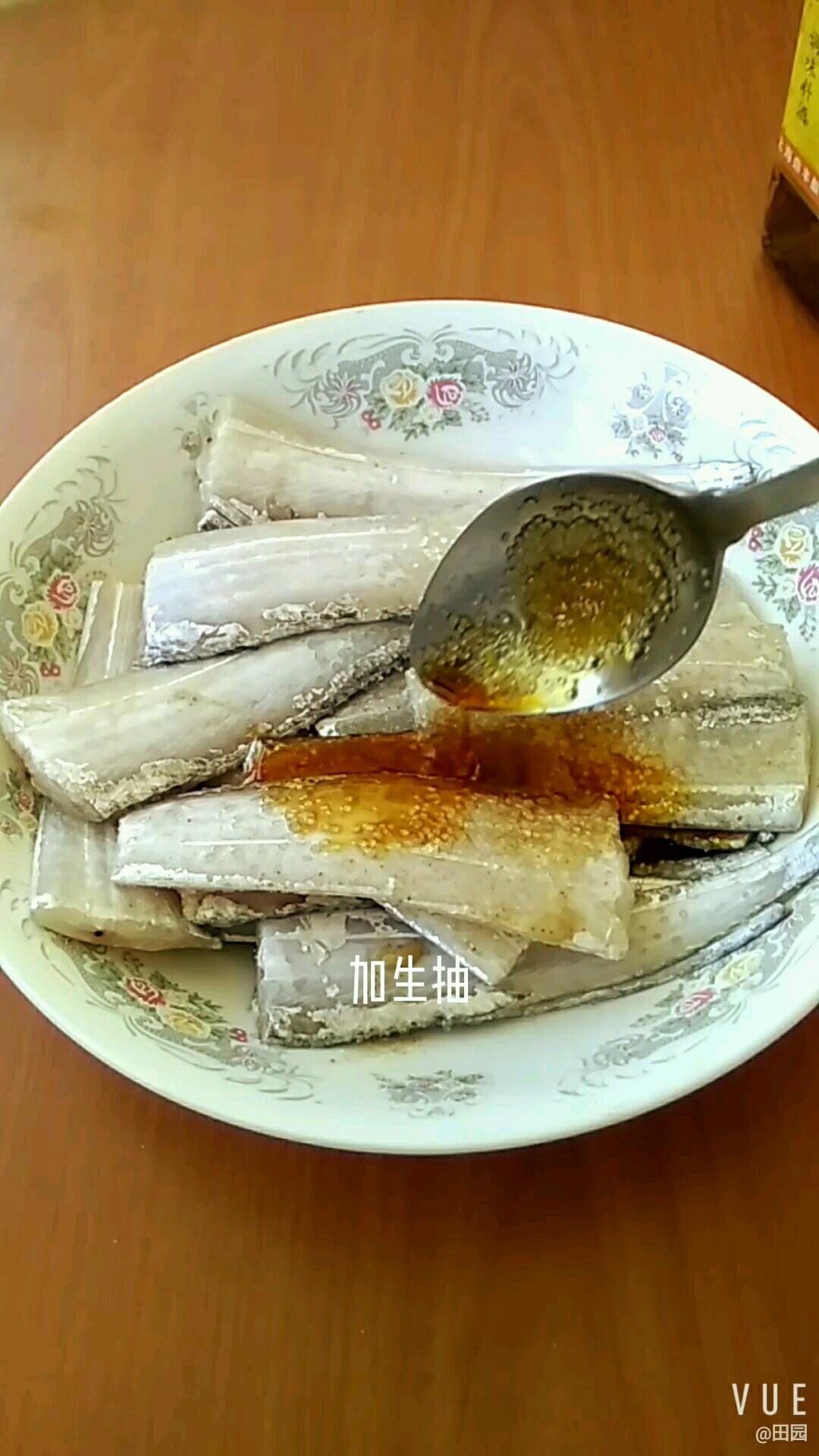 空气炸锅炸带鱼的家常做法