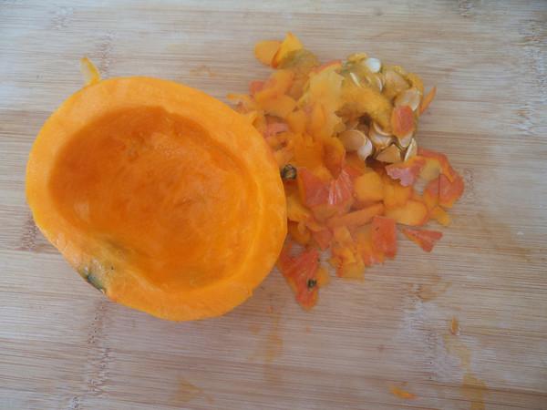 南瓜玉米糊的做法图解