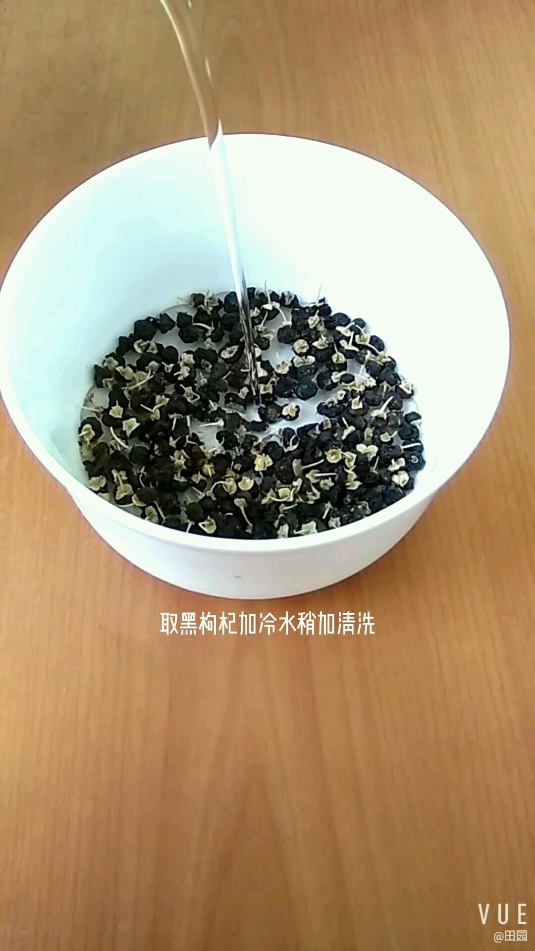 黑米红豆养生粥的简单做法