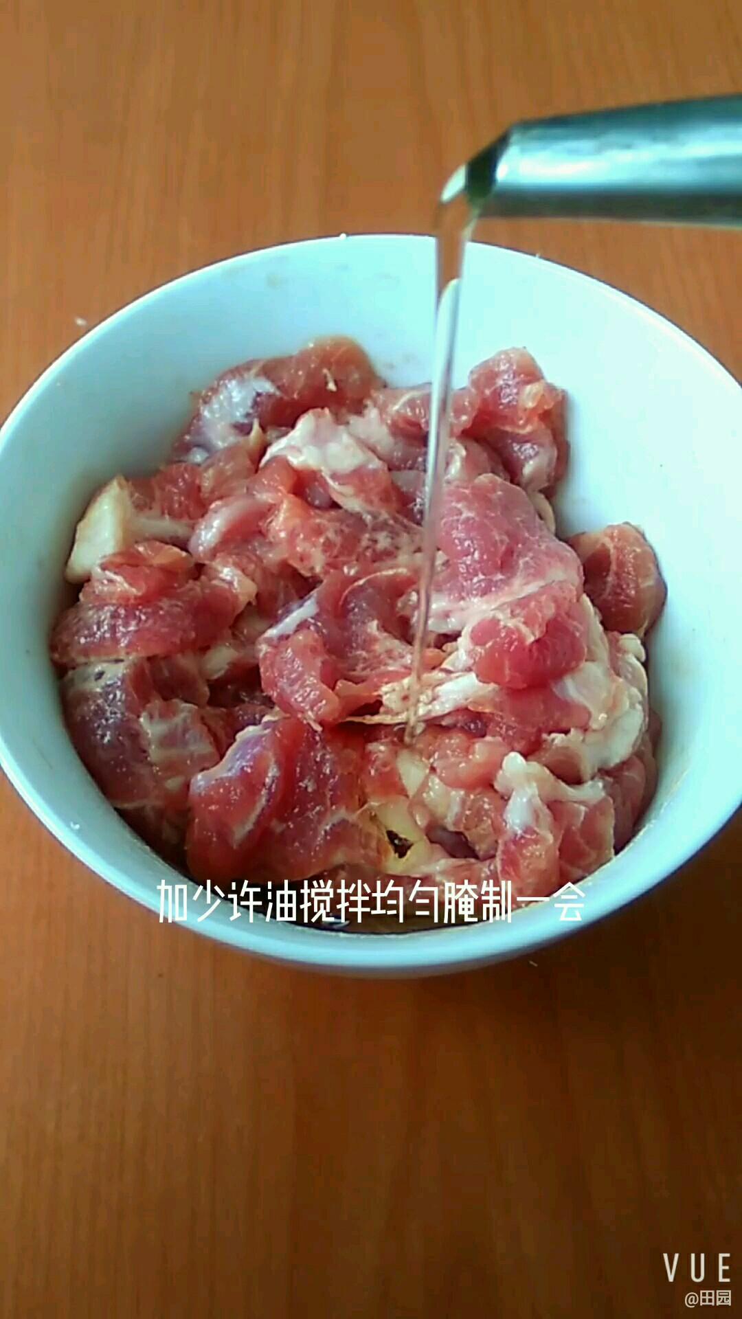 猪肉烧茄子的家常做法