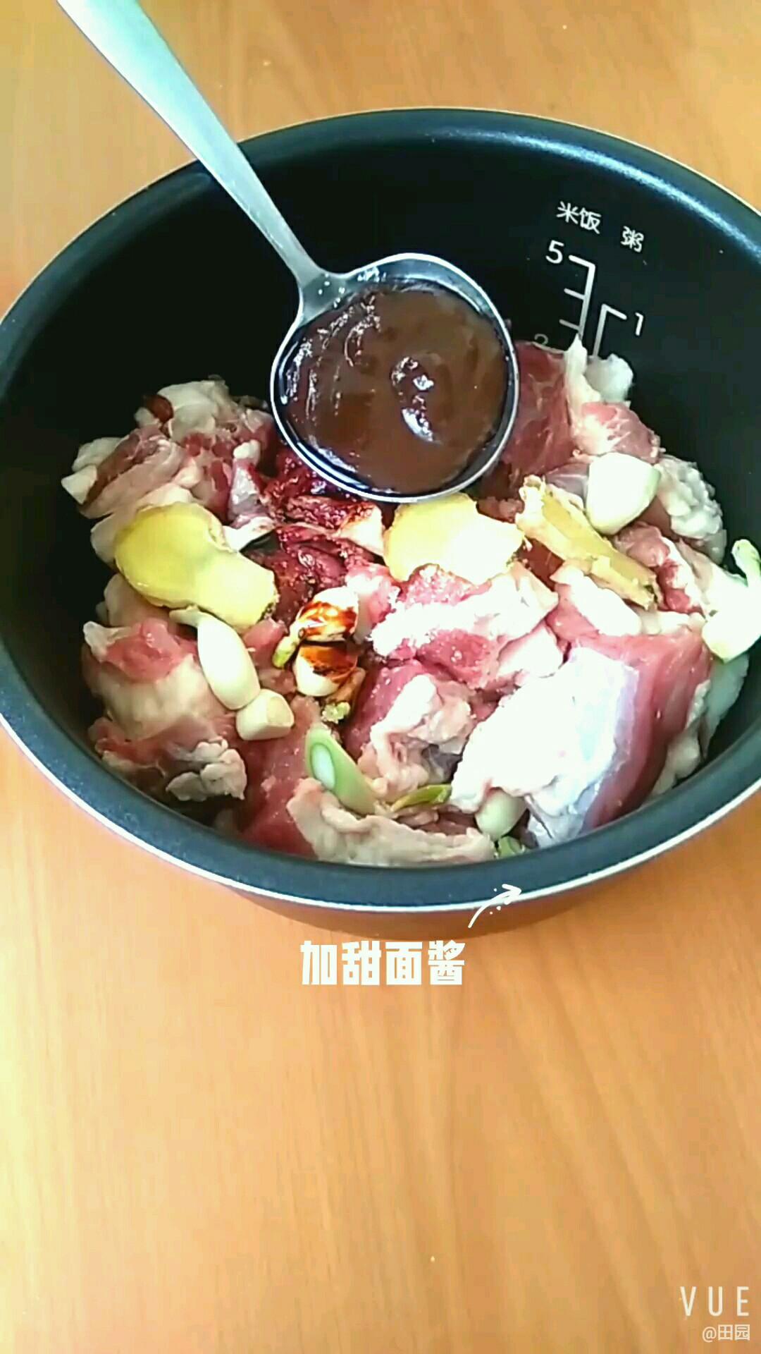 压力锅炖牛肉的家常做法