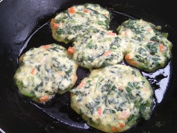菠菜小饼的步骤