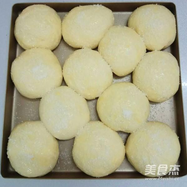 中种椰蓉蜜豆面包怎样煸