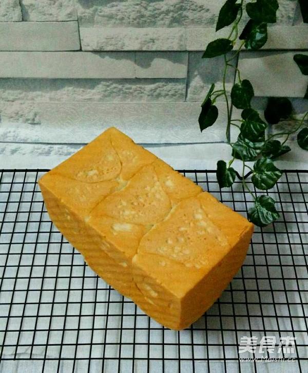 玉米油版一次性发酵吐司成品图
