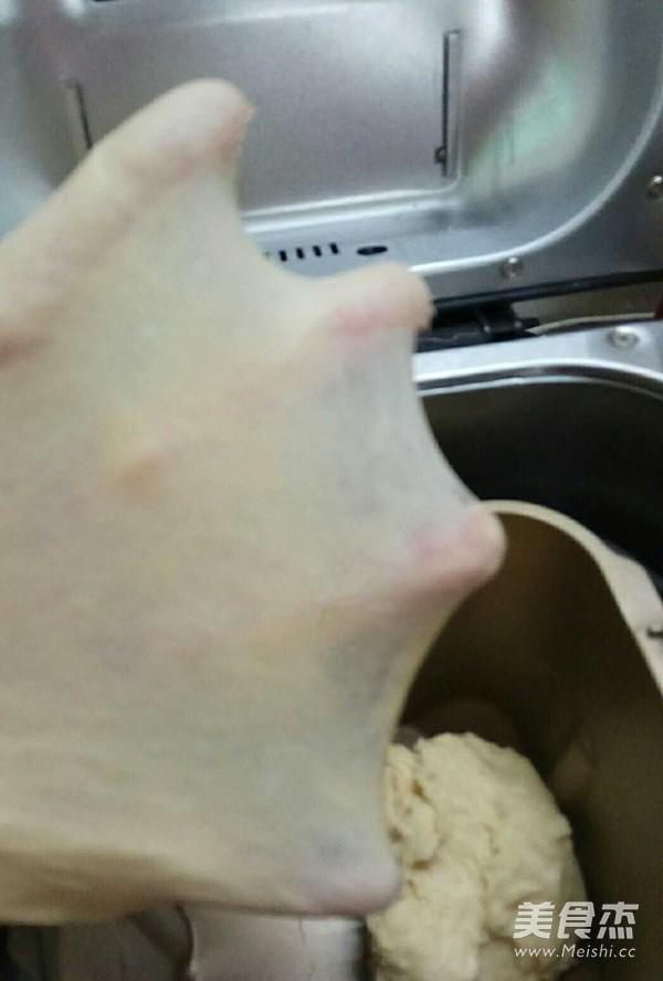 玉米油版一次性发酵吐司的步骤