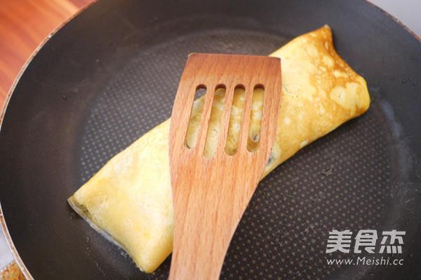 蛋包饭虾仁藕盒便当的简单做法