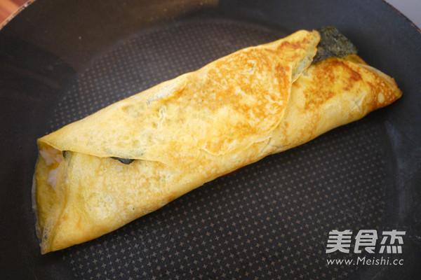 蛋包饭虾仁藕盒便当怎么吃