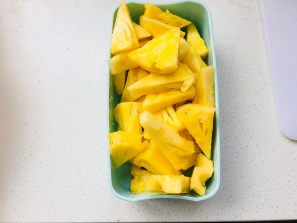 菠萝反转的做法图解