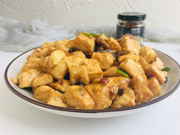 XO酱烧豆腐成品图