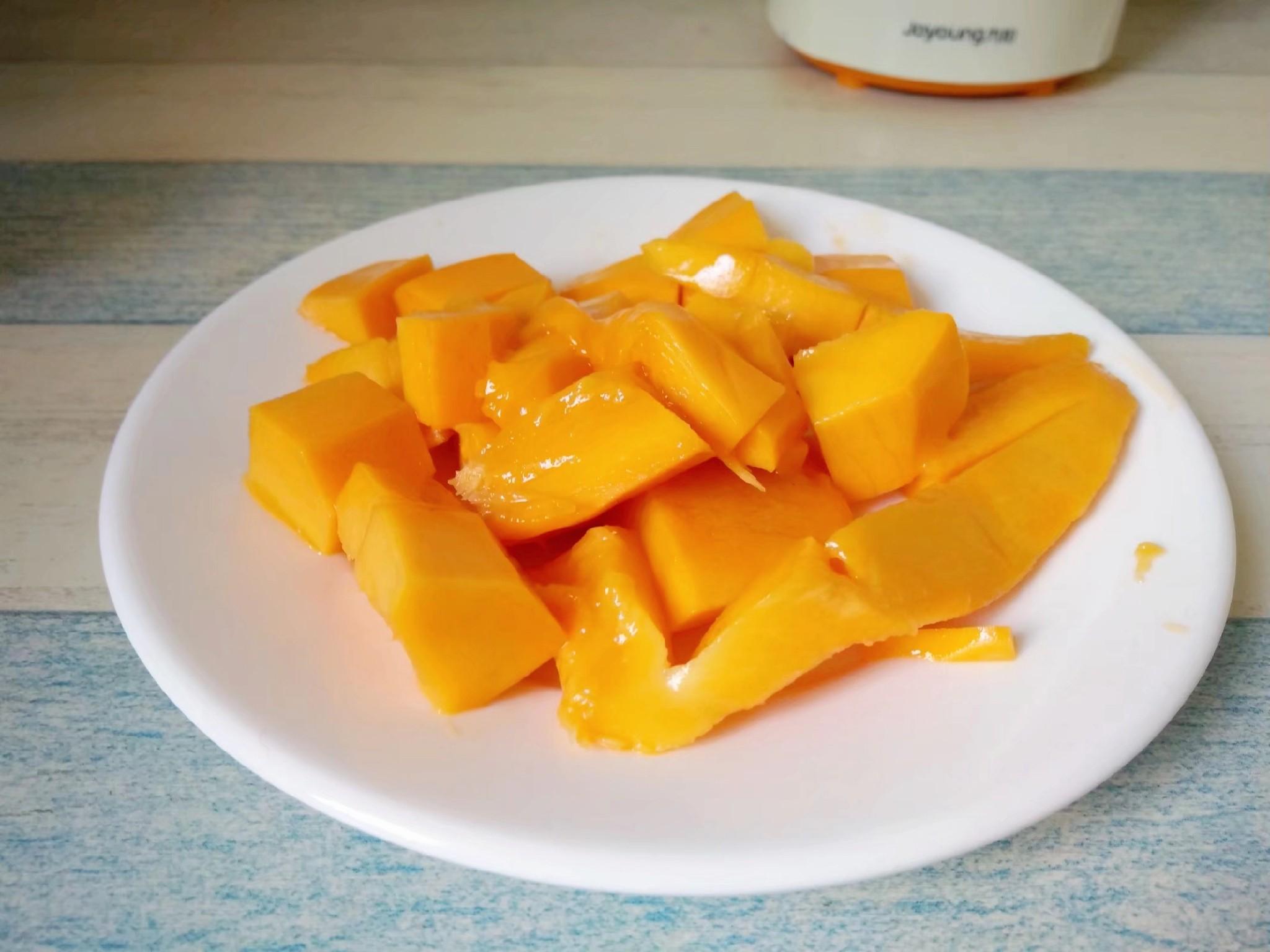 芒果冰棒的做法图解