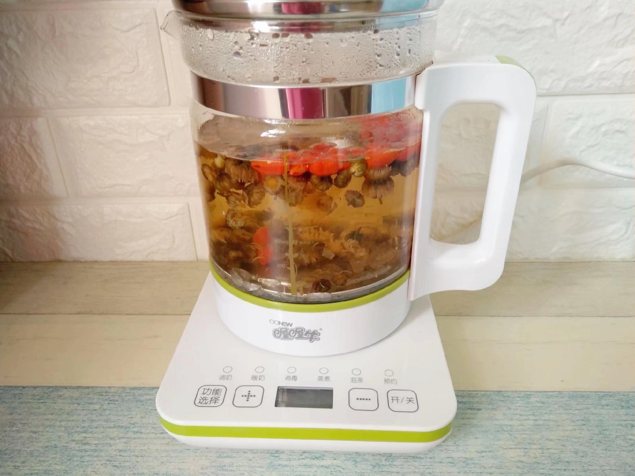菊花枸杞茶怎么煮