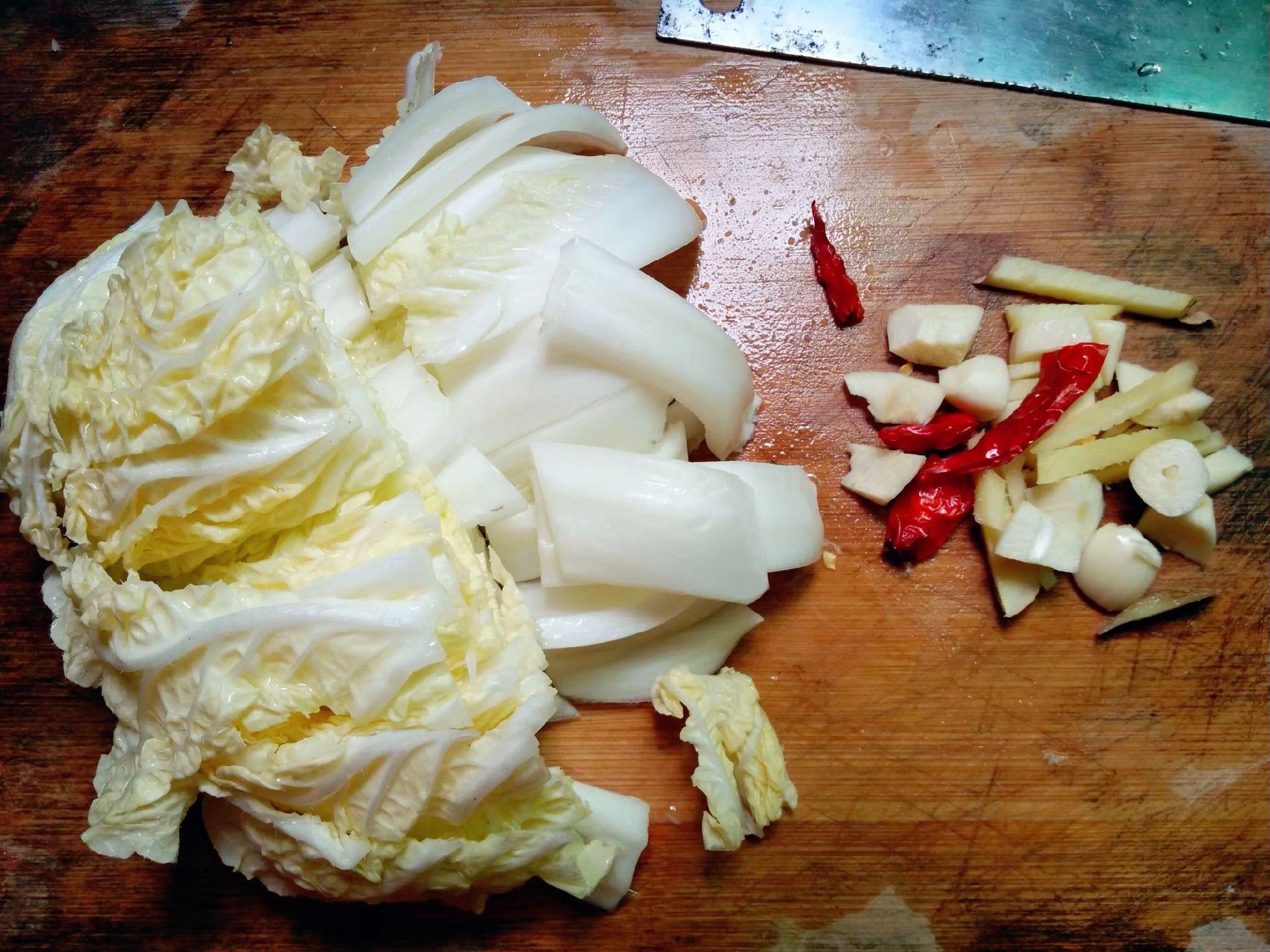 酸辣大白菜的家常做法