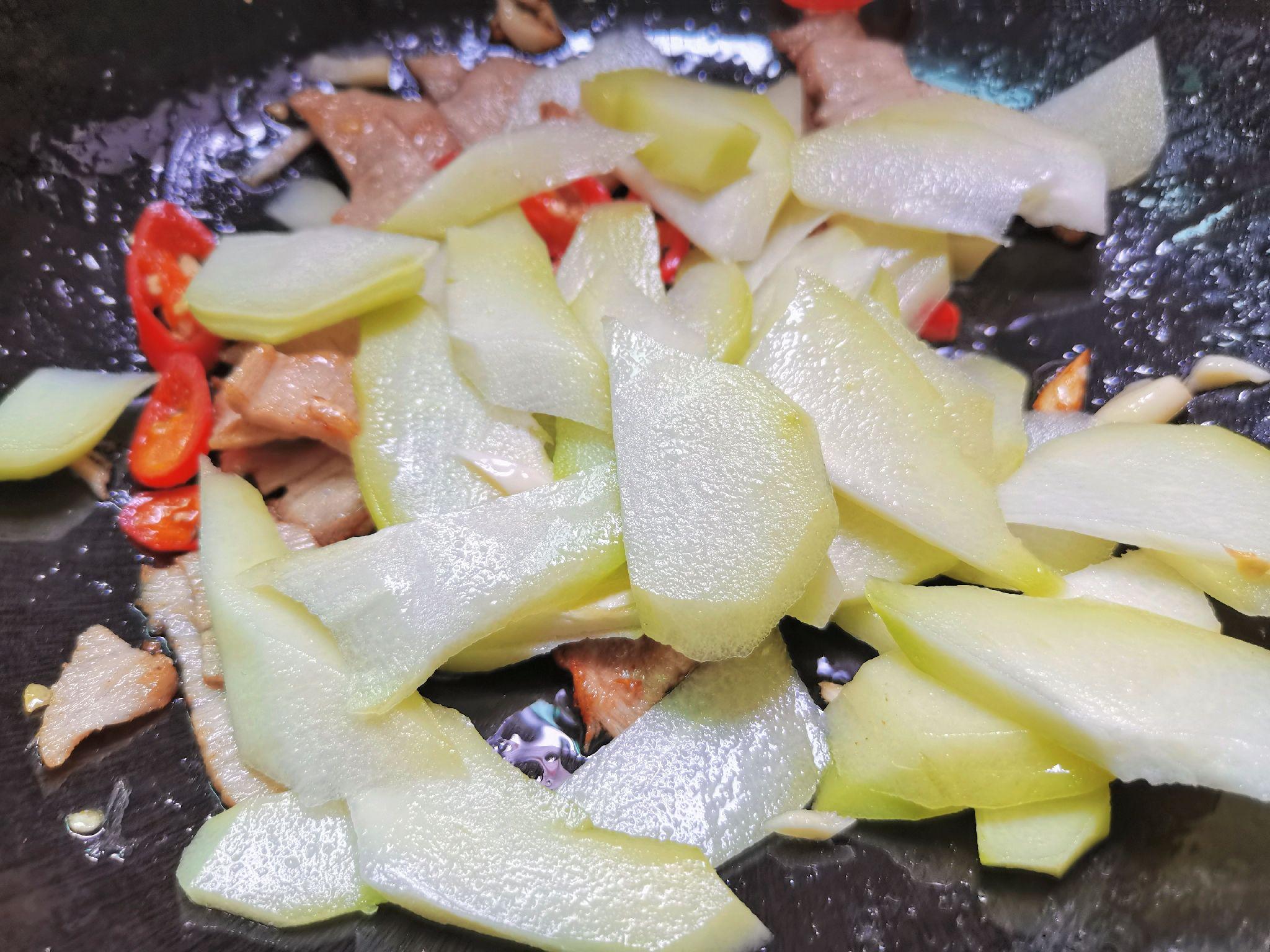 佛手瓜炒肉片怎么煮