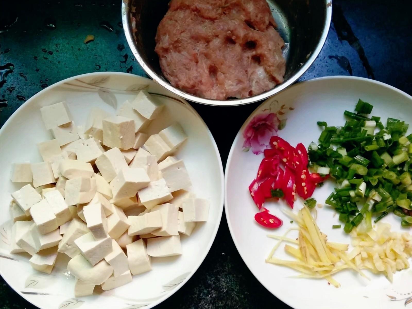 肉末炖豆腐的做法图解