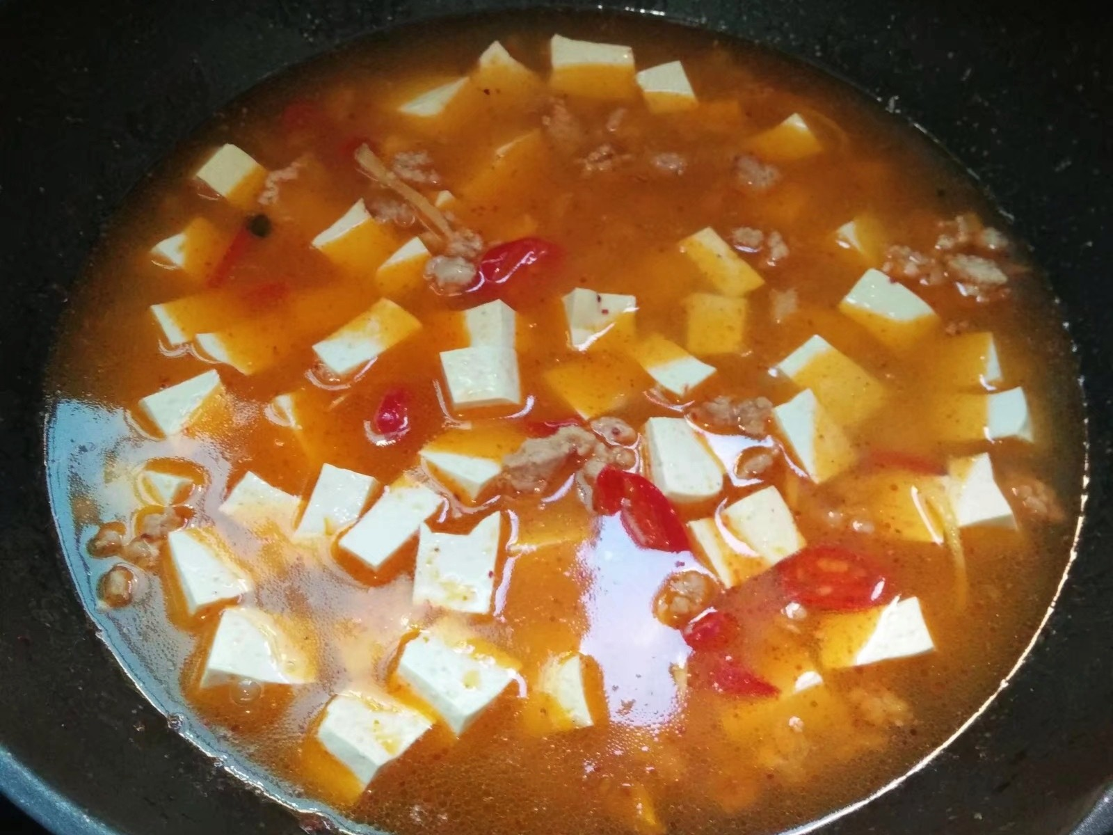 肉末炖豆腐怎么做