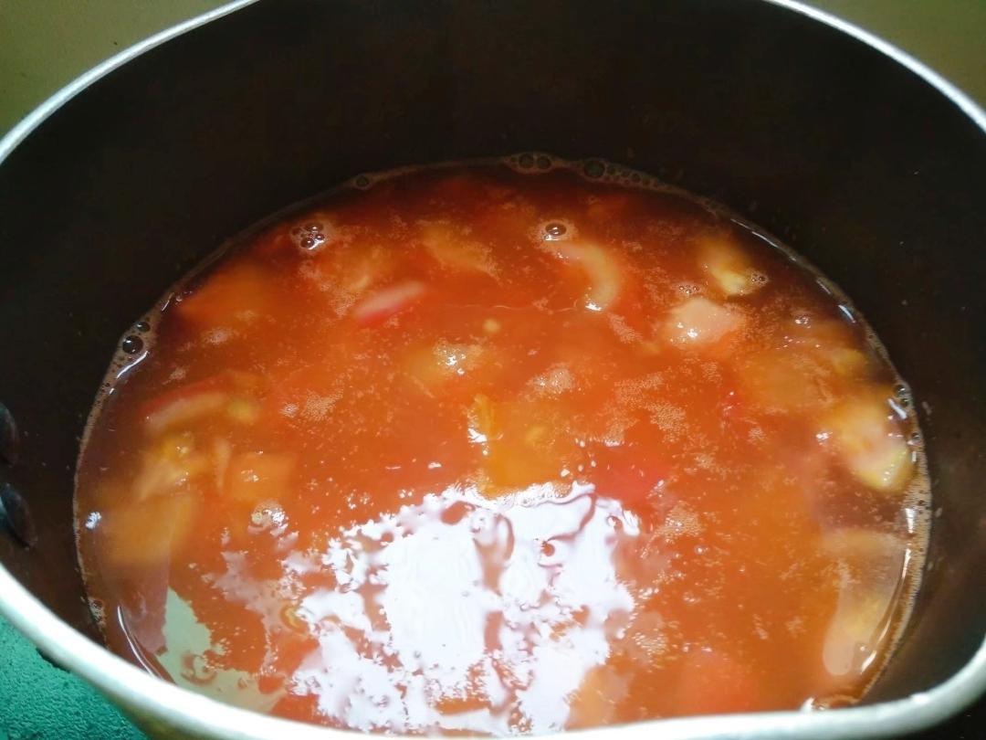 番茄鸡蛋面怎么吃