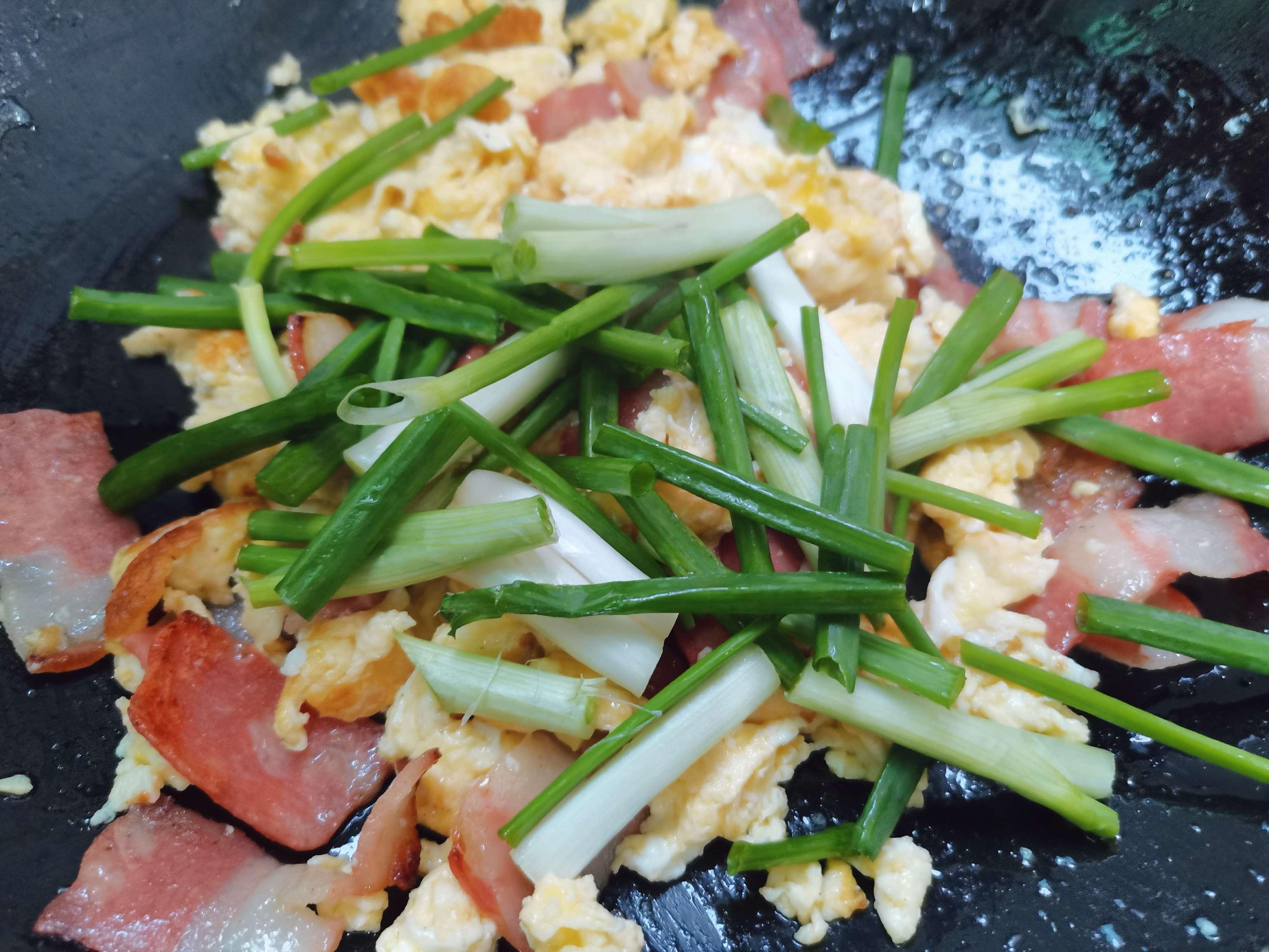 培根炒鸡蛋怎么煮