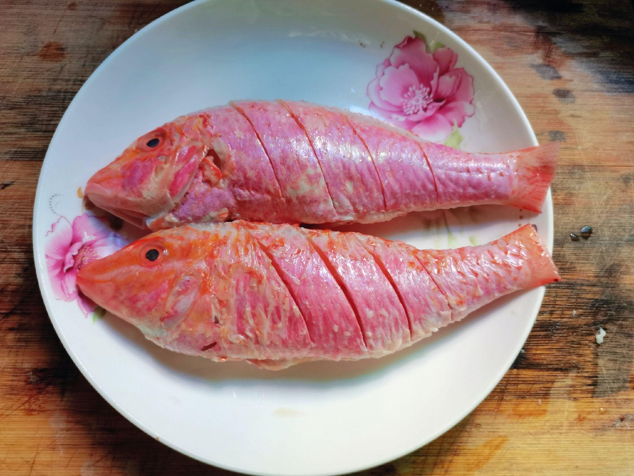 清蒸红衫鱼的做法图解
