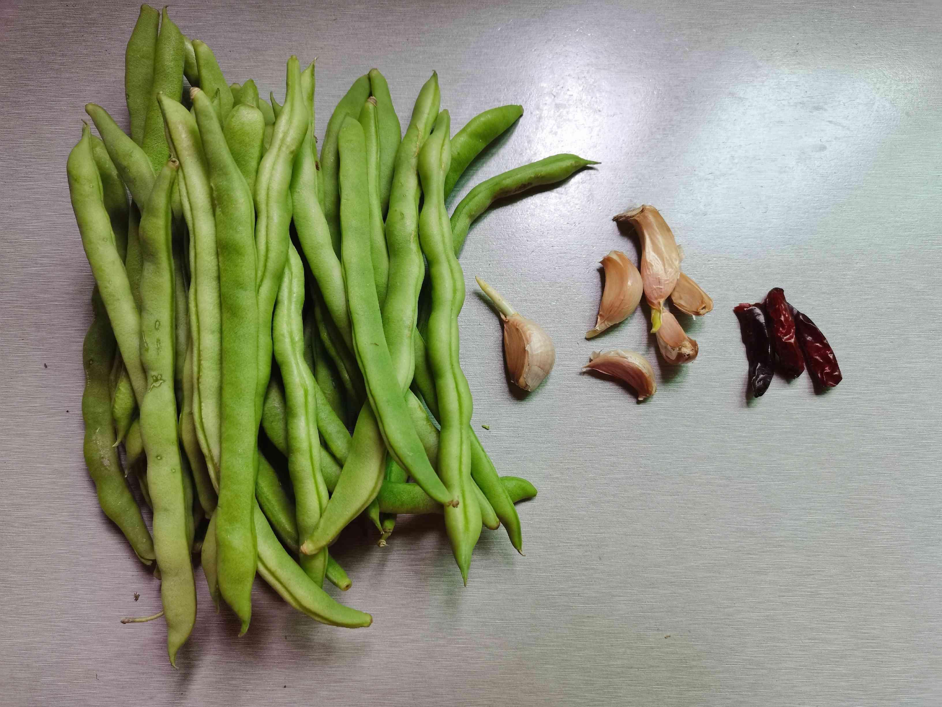 清炒四季豆的做法大全