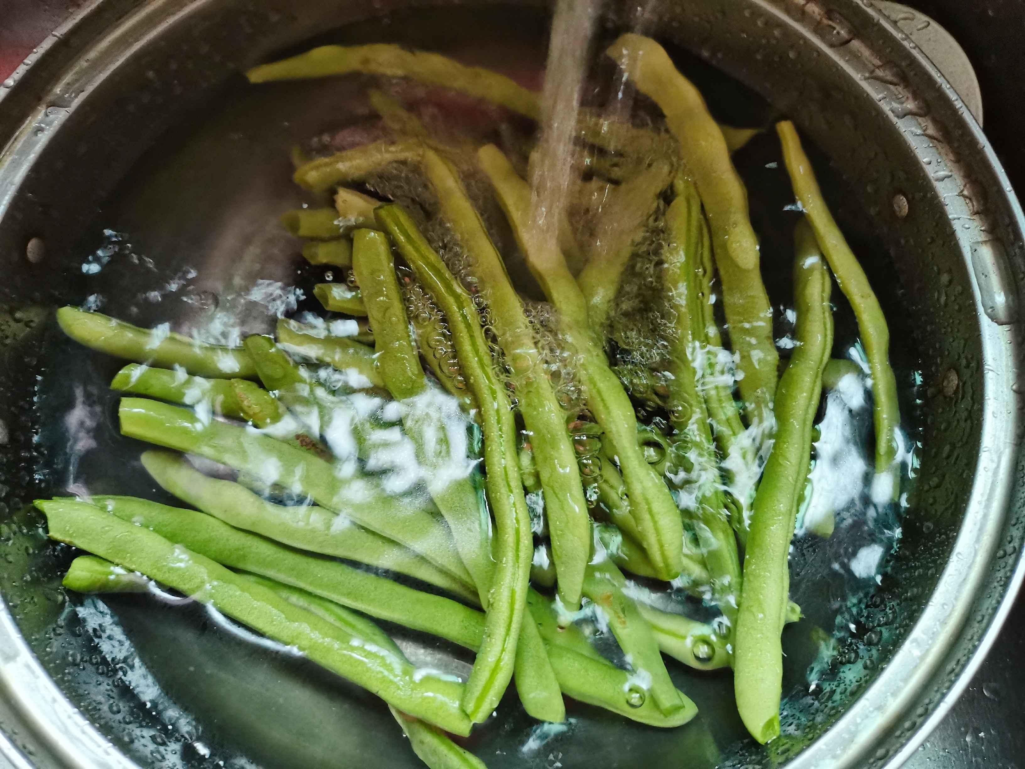 清炒四季豆的家常做法