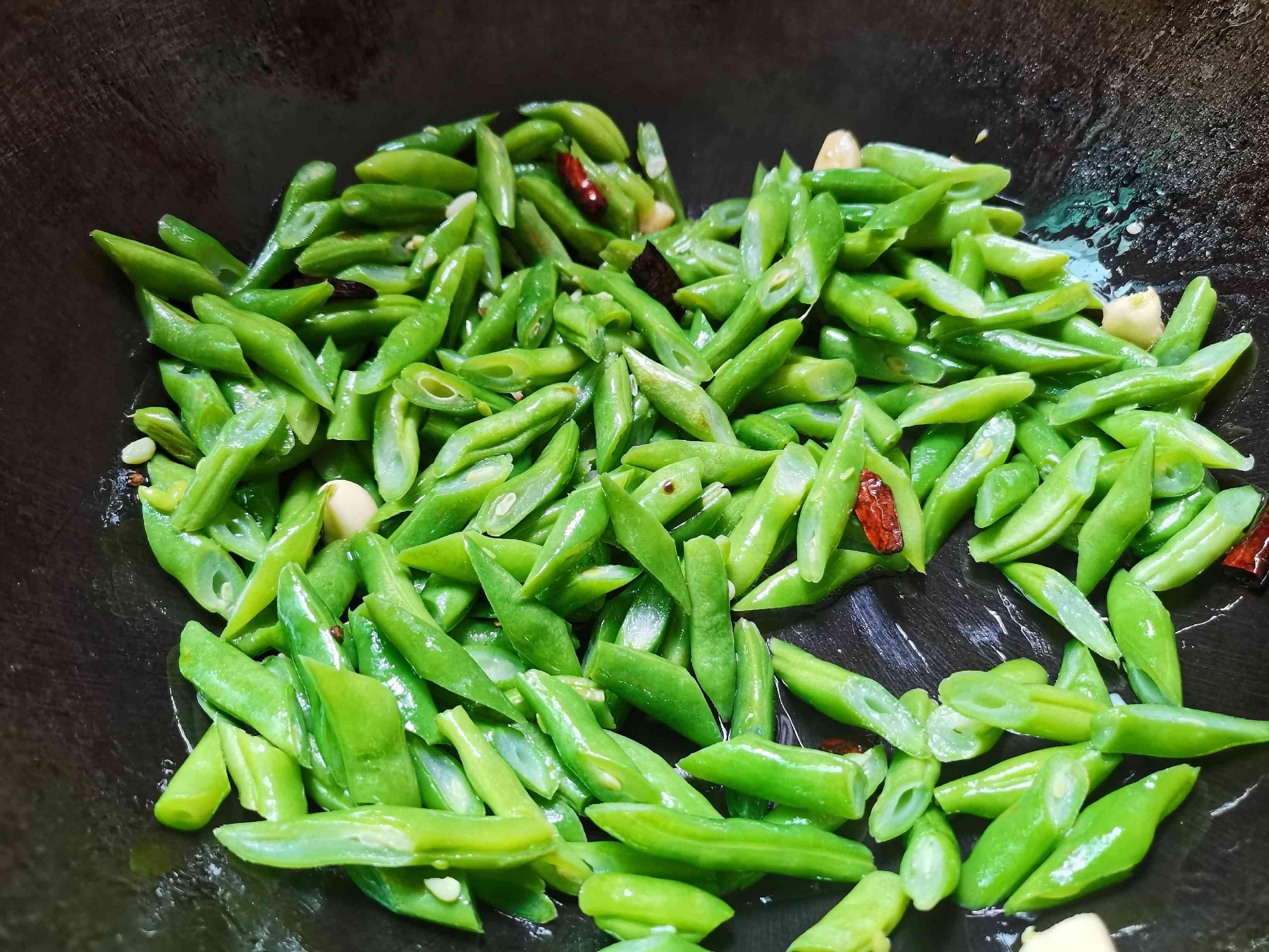 清炒四季豆怎样做