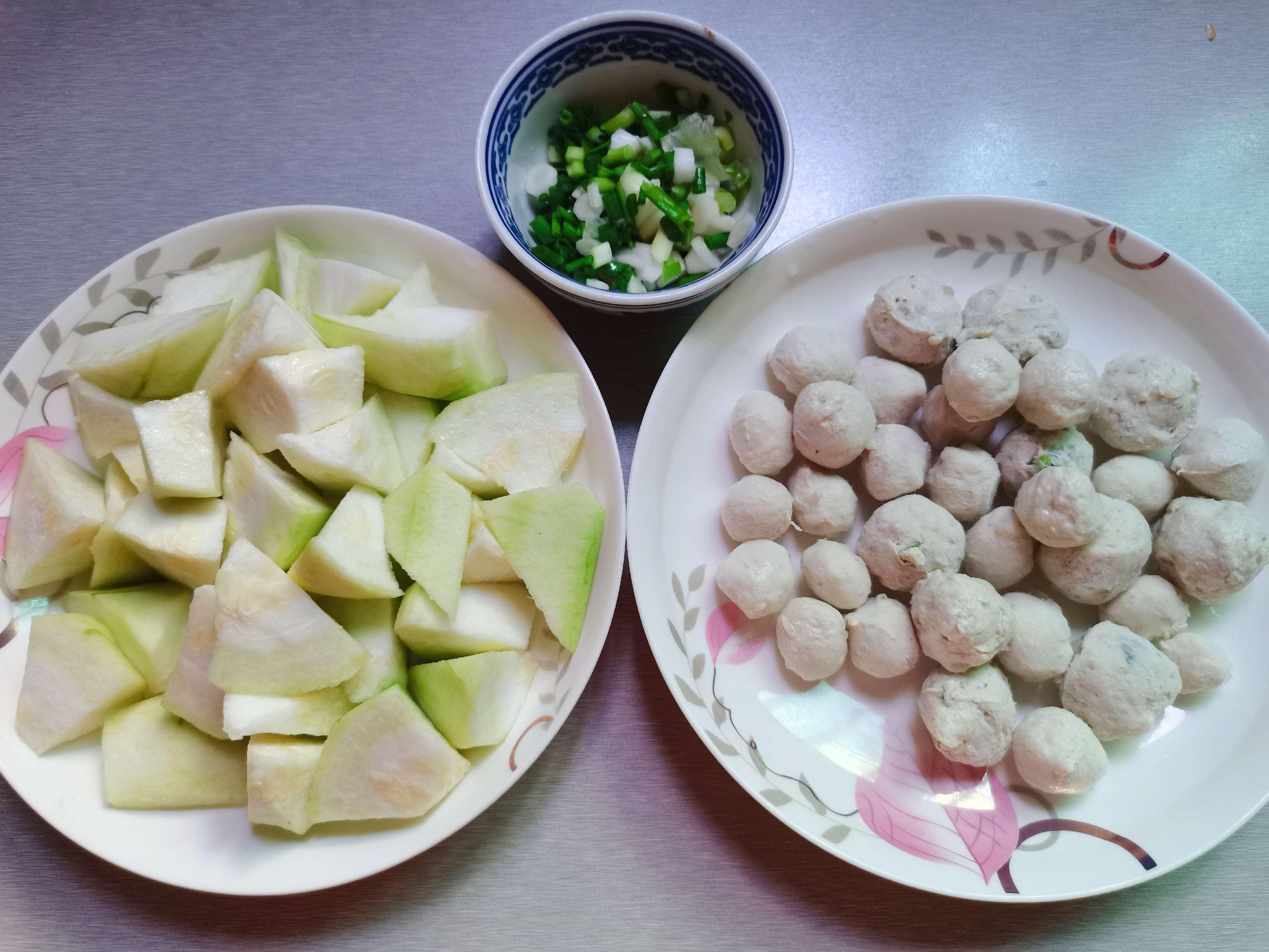 丝瓜肉丸汤的做法图解