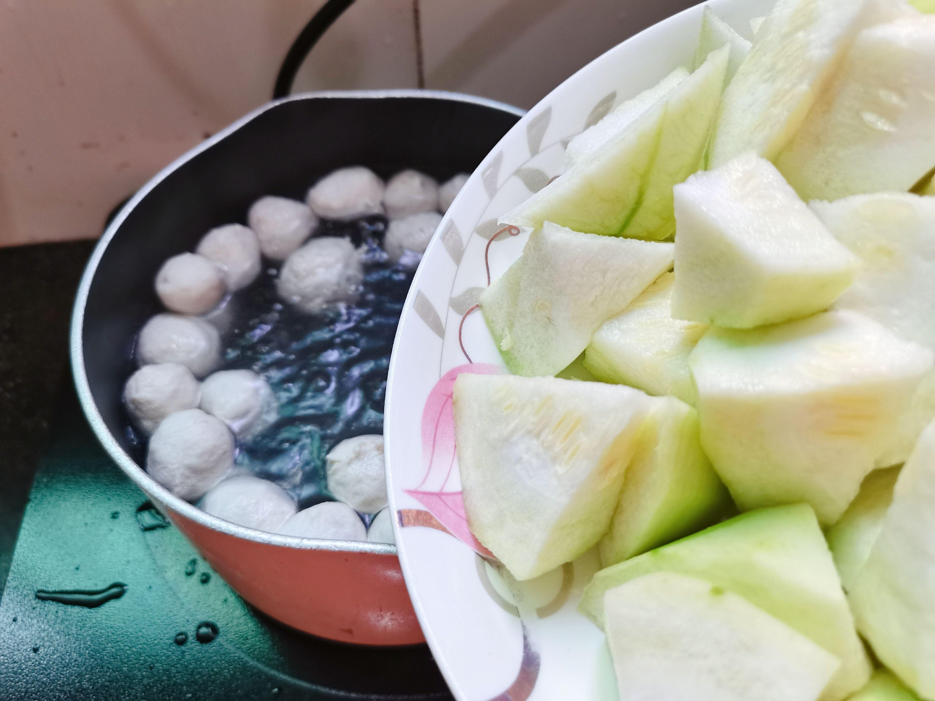 丝瓜肉丸汤怎么吃
