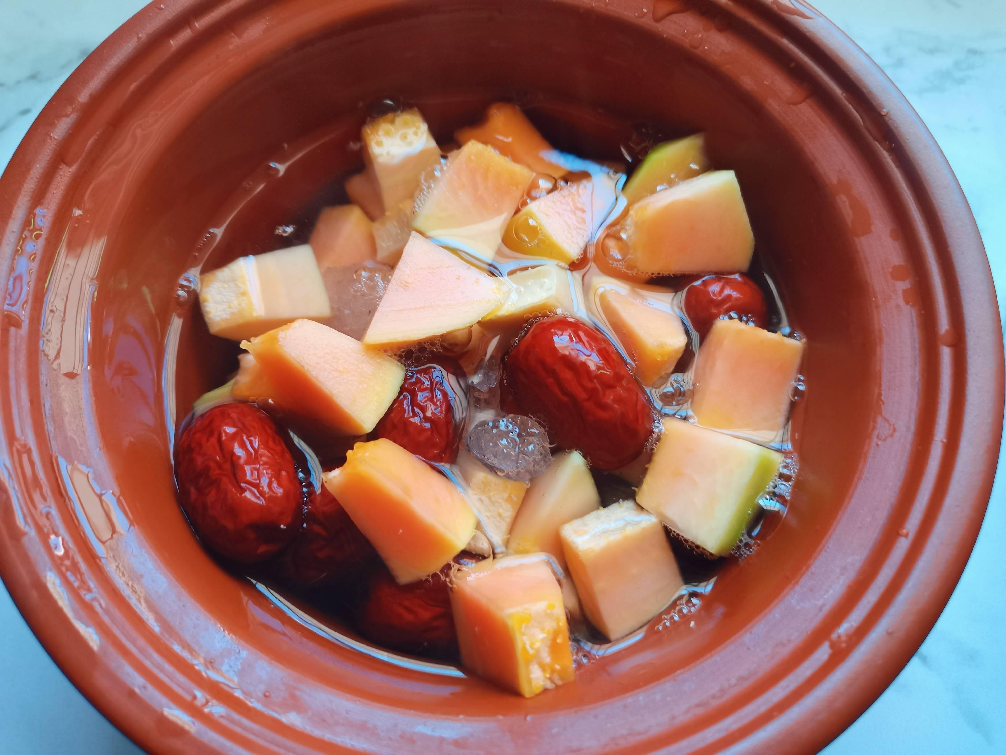 木瓜炖牛奶怎么煮