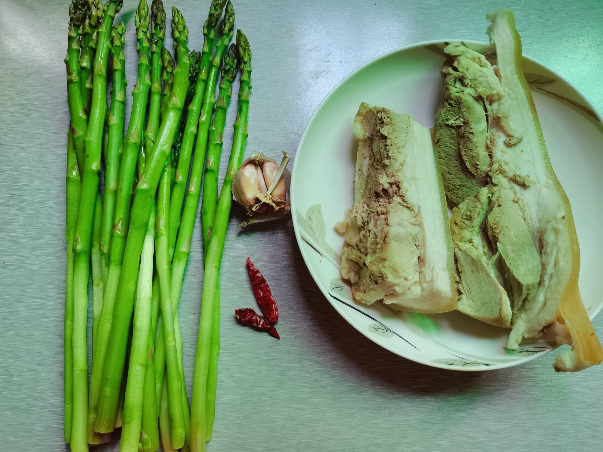 绿芦笋炒肉片的做法大全