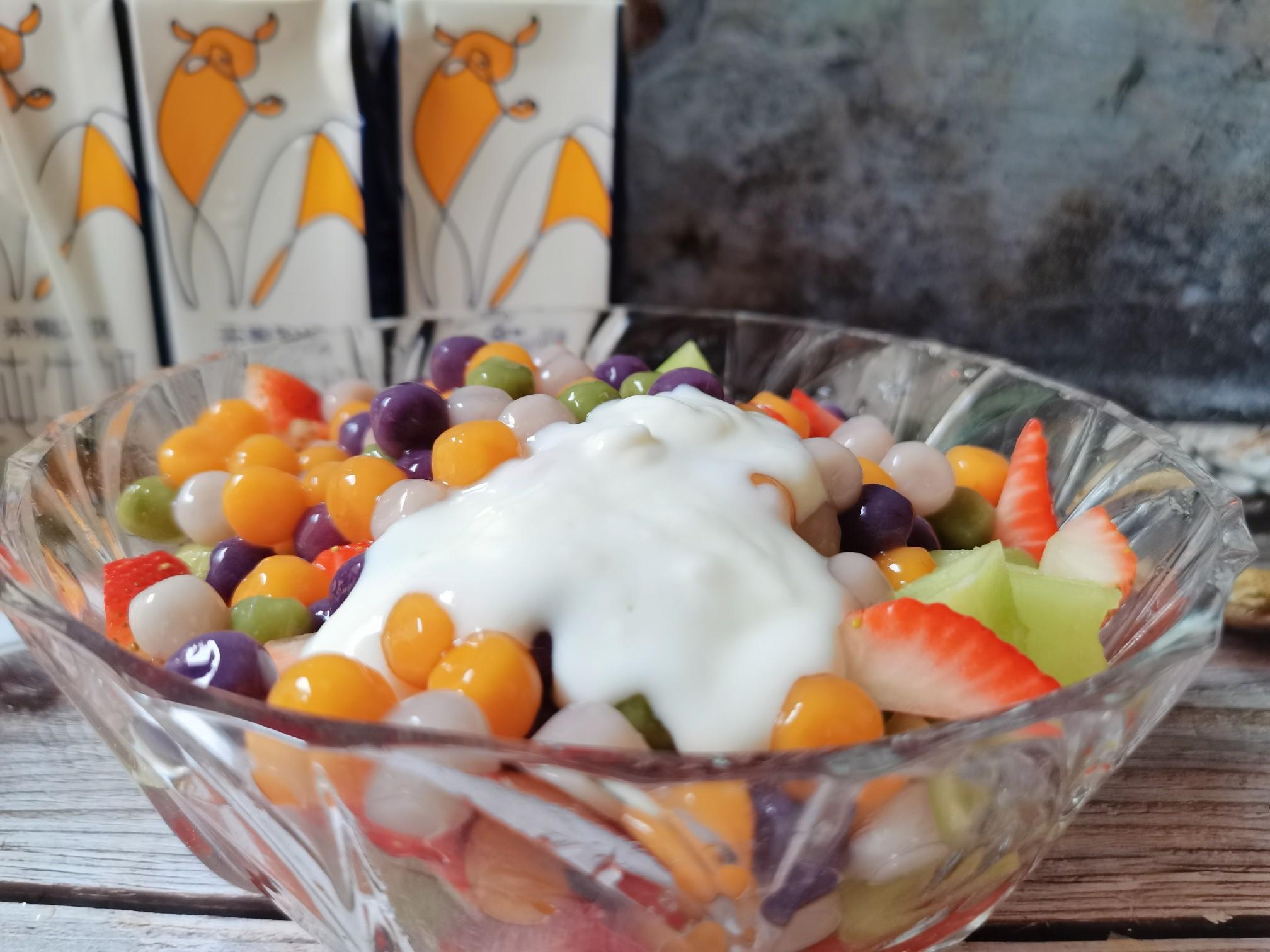 酸奶水果捞的制作大全