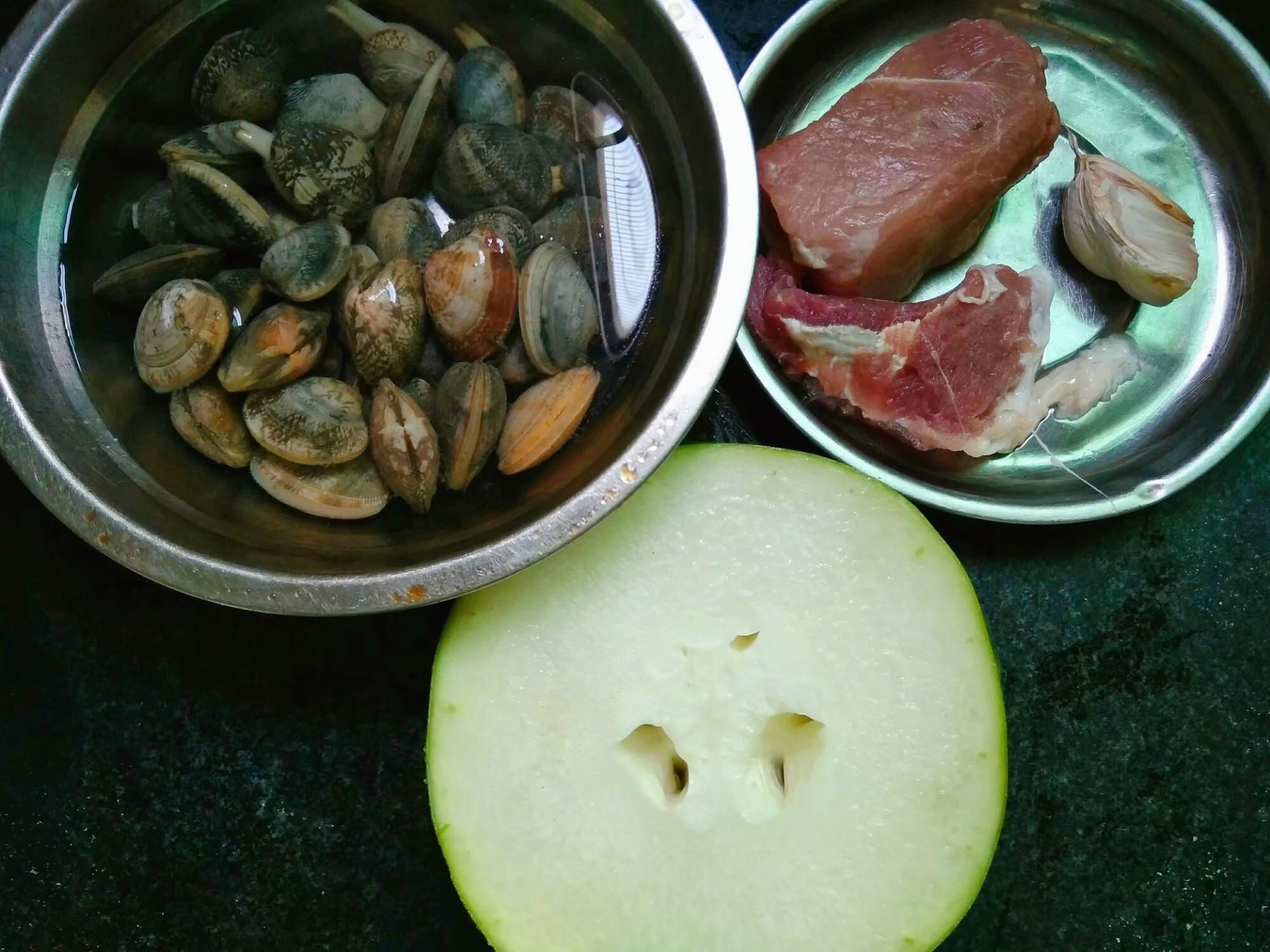 冬瓜花蛤肉片汤的做法大全