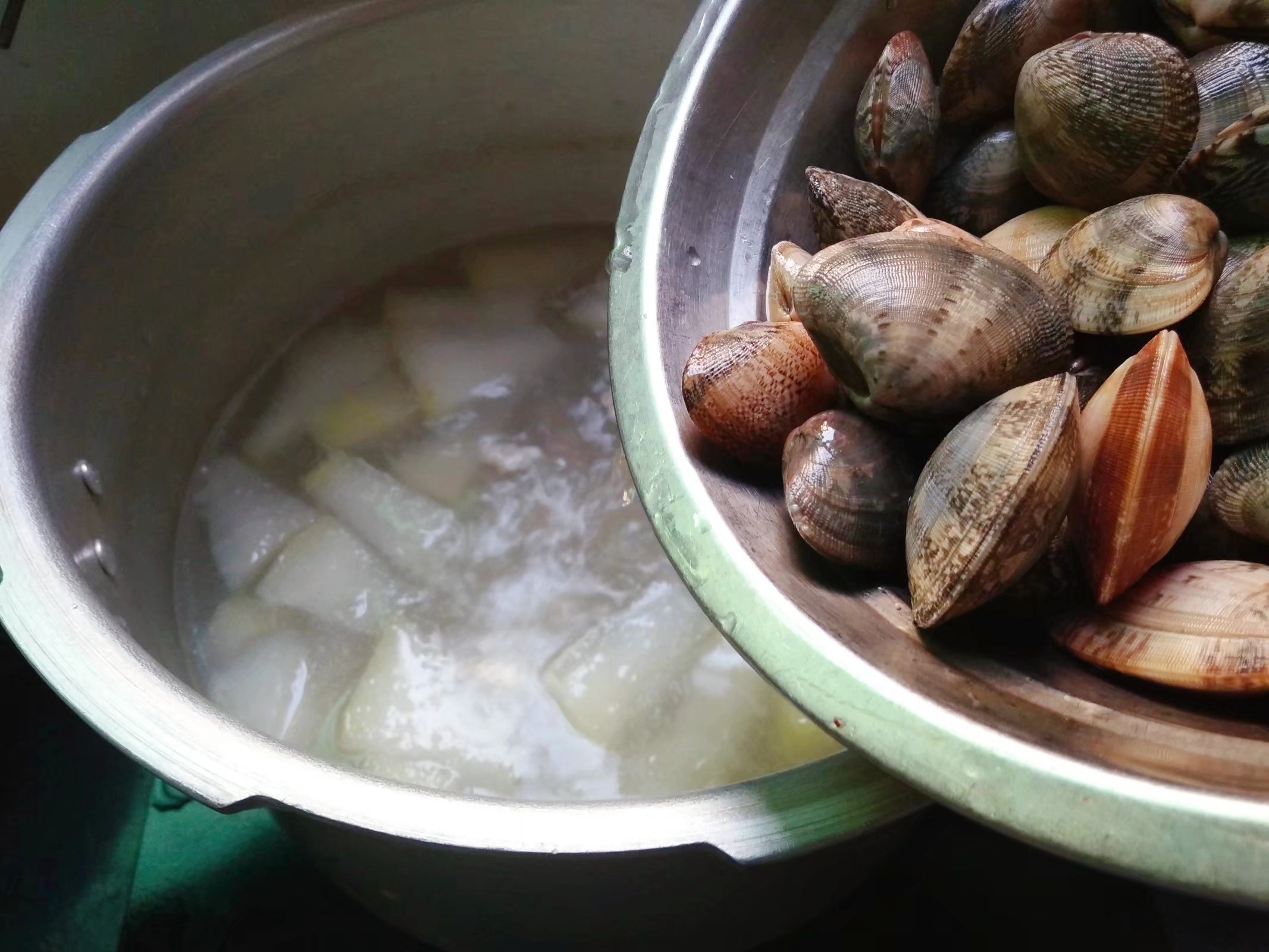 冬瓜花蛤肉片汤怎么炒